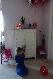 Arlene on her birthday morning